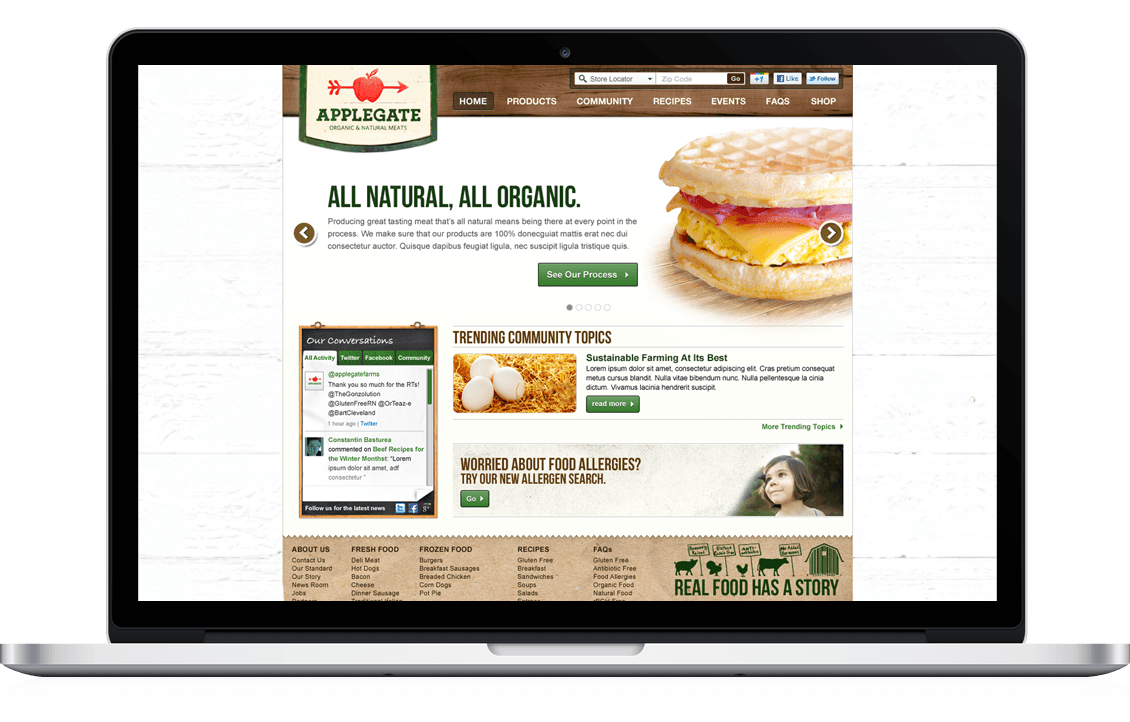 Applegate: Organic & Natural Meats