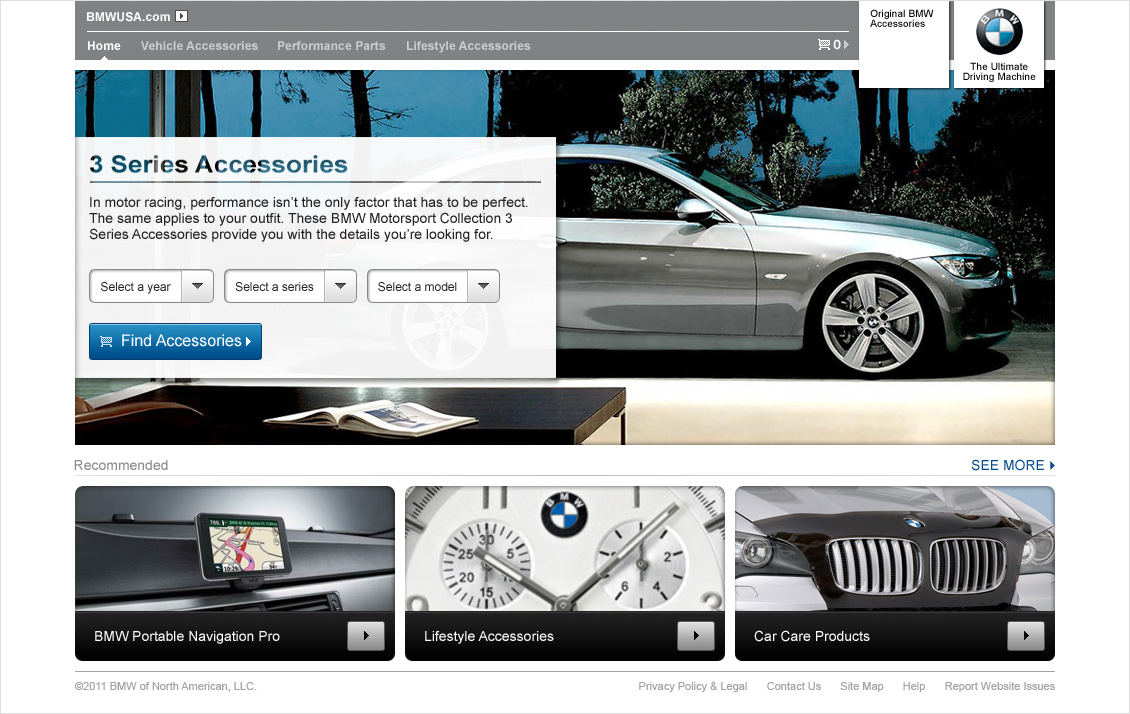 BMW E-Commerce