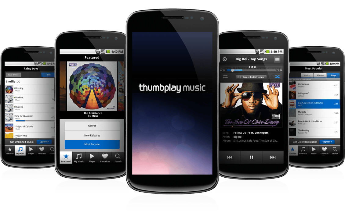 Thumbplay Music - Android
